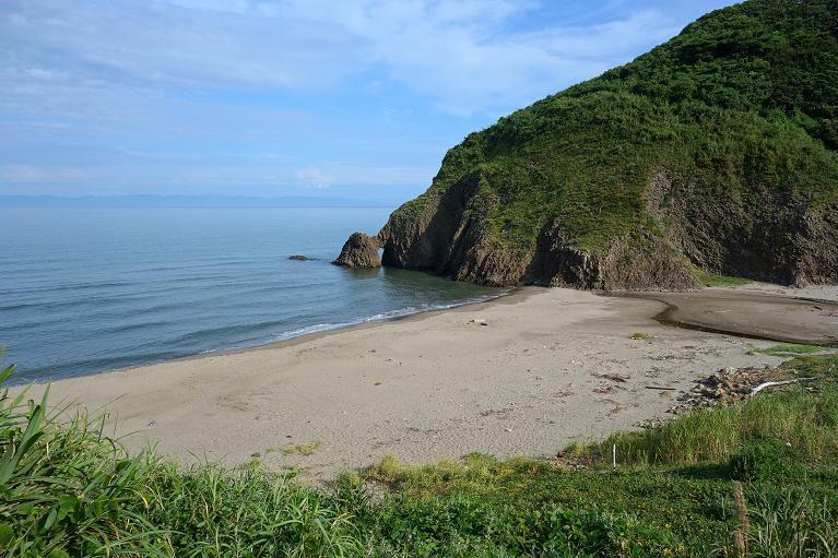 10 綺麗な海岸線です.JPG