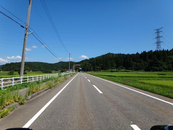 16 柏崎を降りたら米所的な風景でした.JPG