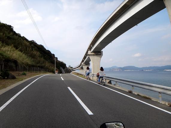 26 橋と併走・・・自転車とも併走.JPG
