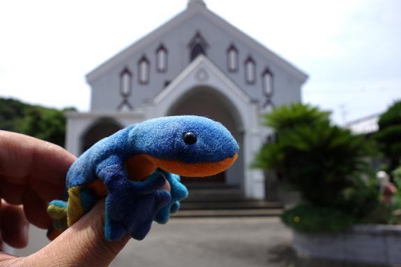 35 ステファニーと見るカトリック教会.JPG