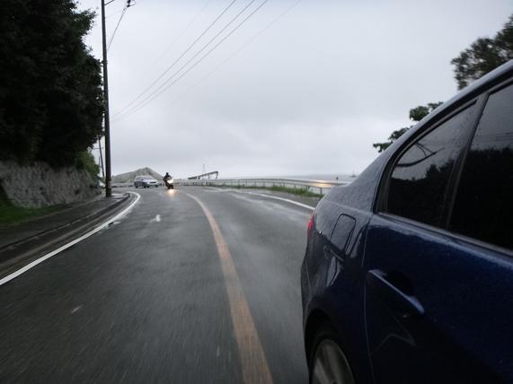7 あまり経験のない車での先導.JPG