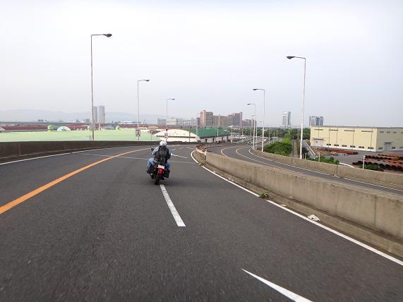 8 バイクで一緒に走るのは初めて.JPG