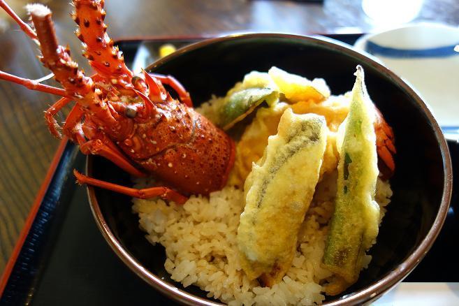 9 贅沢な天丼.JPG