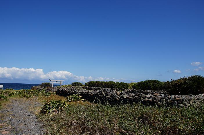 いつも気になっていた岬の鳥居.JPG